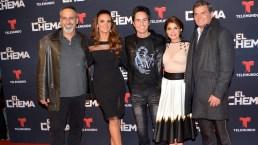 """Elenco acude al preestreno de """"El Chema"""" en México"""