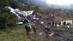 Se recuperan sobrevivientes del accidente del Chapecoense