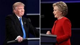 Las frases más picantes de Trump y Clinton
