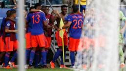 Golazo de Zapata que le da triunfo definitivo a Colombia