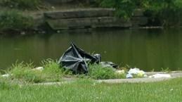 Descubren cuerpo descuartizado en laguna de Chicago