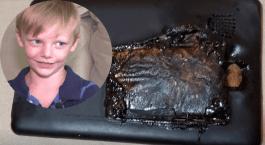 Aterrador: niño de 4 años narra cómo explotó su tableta mientras jugaba