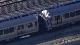 Chocan dos trenes de la CTA