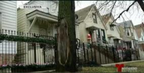 Asegura que la Virgen lo salvó y dejó su silueta en Chicago