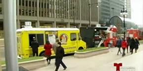 Golpe a trabajadores de camiones de comida en Chicago