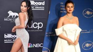 Becky G y Selena Gómez calientan las redes en trajes de baño