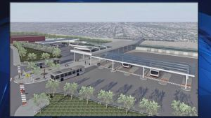 Alcalde aprueba modernización de la línea azul del CTA