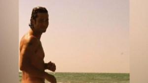 Gregorio Pernía se desnuda sin censura en Instagram