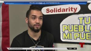 Joven boricua motiva a estudiantes de Pilsen