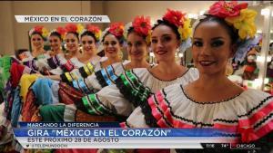 México en el Corazón: Presentaciones de bailes folclóricos en Chicago, IL e Indiana
