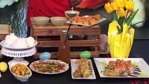 Sushi con toque mexicano