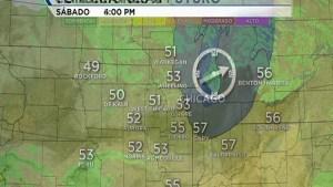 Densa niebla por la mañana con temperaturas en los 50s