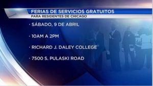 Ferias de servicios gratuitos en Chicago