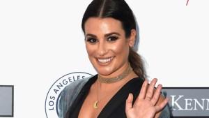 En fotos, el escotazo de Lea Michele