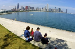 Temperaturas cálidas rompen récord en Chicago