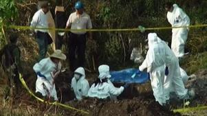 México: identifican 56 cadáveres en fosa clandestina