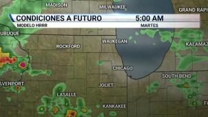 Chicago bajo amenaza de tormentas la noche del lunes