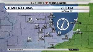 Bajo advertencia de tiempo invernal áreas de Chicago