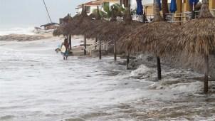 La tormenta tropical Priscilla va camino a costas de México