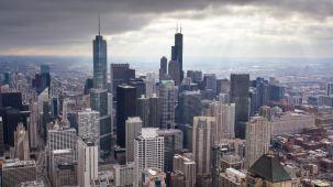 Lluvia, fuertes vientos y tormentas azotan área de Chicago
