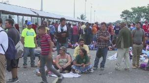 Ayuda a caravana de migrantes desde Chicago