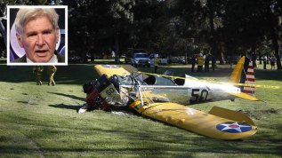 Harrison Ford herido en accidente de avión