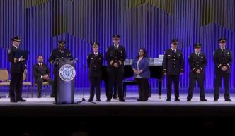Honran a oficiales que acudieron a tiroteo en fábrica Pratt
