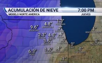 Chicago podría ver nieve esta semana
