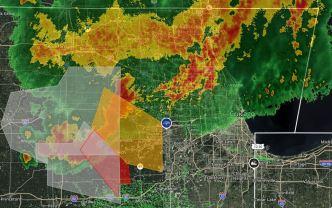 Chicago y suburbios bajo aviso de tormentas severas