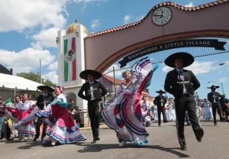 ¡Así se vivió el desfile Fiestas Patrias en La Villita!