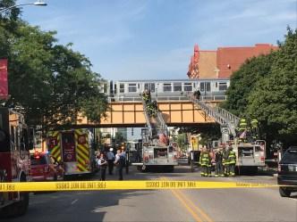 Investigan accidente que paralizó trenes café y púrpura de la CTA