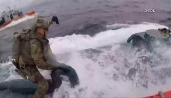 Dramática persecución a alta velocidad termina con captura de submarino