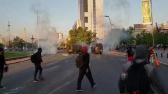 Tres muertos tras disturbios en Santiago de Chile