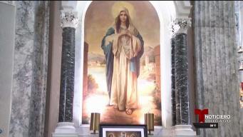 Celebran la aparición de la Virgen Chiquinquirá