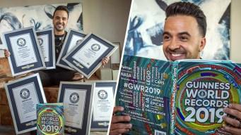Luis Fonsi sigue celebrando éxitos con Despacito