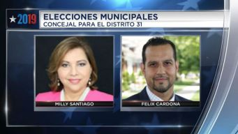 Distrito 31: Félix Cardona desbanca a Milly Santiago<br /><br />