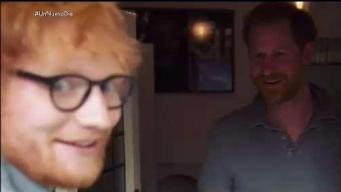 El príncipe Harry y Ed Sheeran se unen por una buena causa