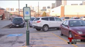 Multas si no respeta estacionamiento para discapacitados