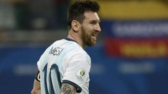 Se tatuó a Messi y lo ¡apoya a muerte! en la Copa América