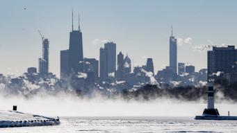 Chicago experimenta gélido frío cercano a récord