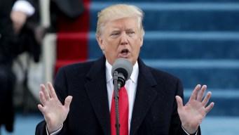 Trump: el presidente con menos aprobación en medio siglo