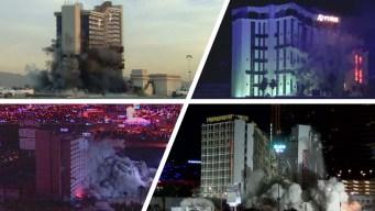 Derrumbando casinos: históricas caídas en Las Vegas