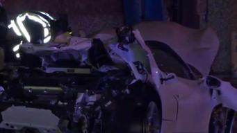 Dallas: Impresionantes imágenes tras accidente de boxeador