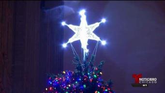 Se enciende la Navidad en Chicago