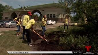 Jóvenes marcan la diferencia en Humboldt Park