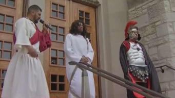 La Villita celebra su tradicional Via Crucis