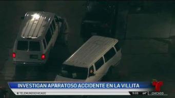 Violento choque en La Villita deja cuatro heridos