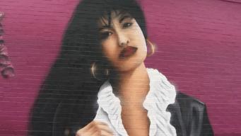 Con un gran mural honran a Selena en Chicago