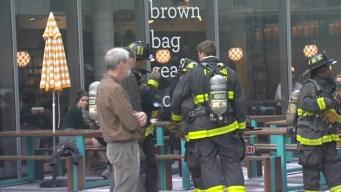 Extinguen fuego en Starbucks ubicado en el West Loop