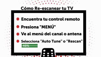 Cómo re programar tu televisor para sintonizarnos mejor